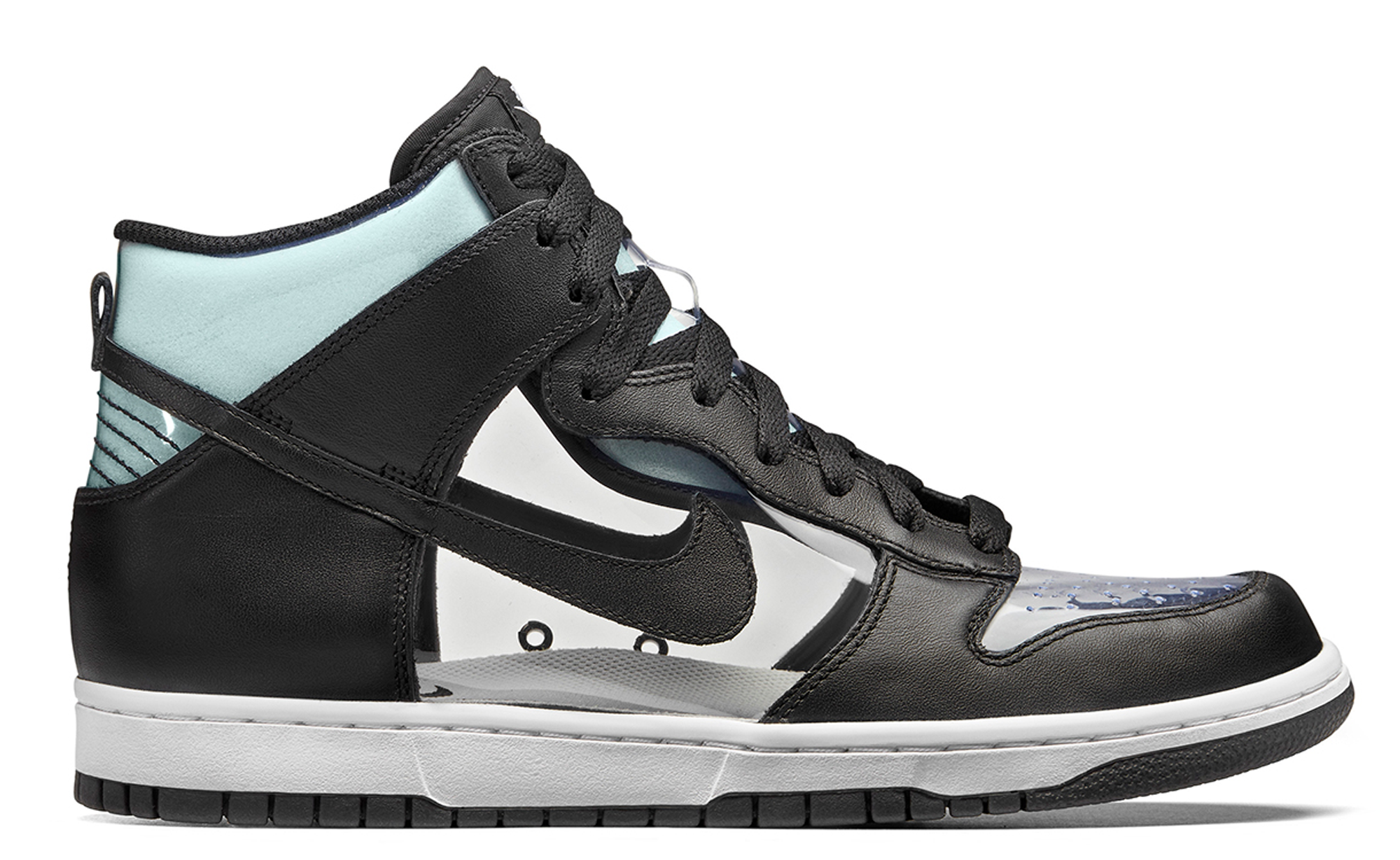 Nike Dunk High COMME des GARCONS Clear