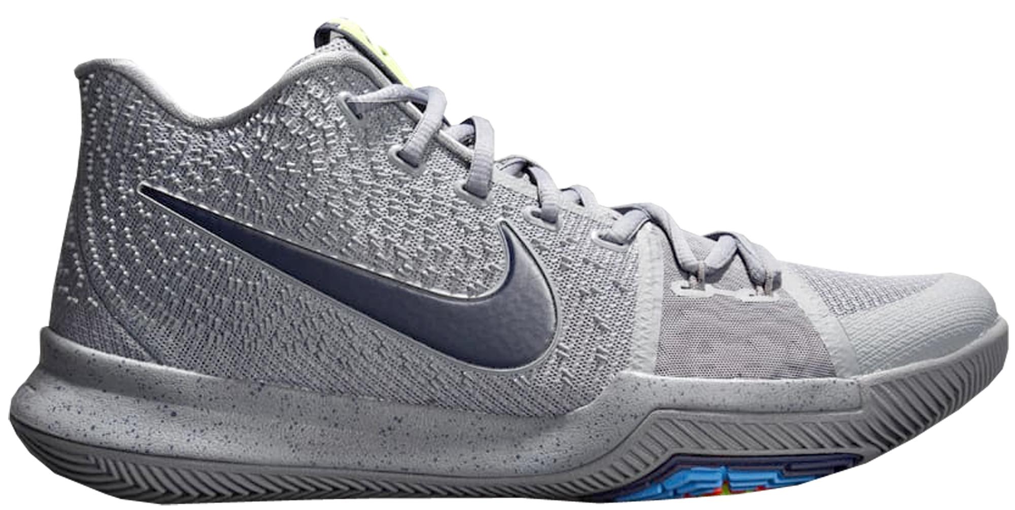 Nike Kyrie 3 Cool Grey Midnight Navy
