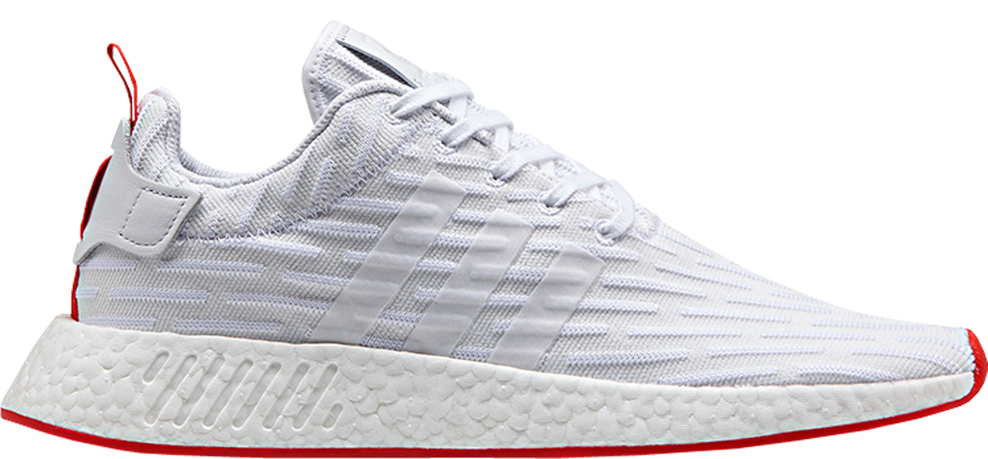 Regulación Absorbente Cincuenta  adidas NMD R2 Two-Toned White Red - StockX News