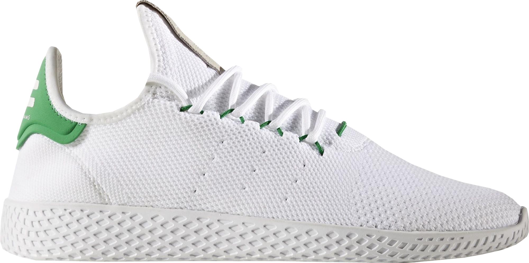 La risa Honestidad Hacia arriba  Pharrell Williams x adidas Tennis Hu White Green - StockX News