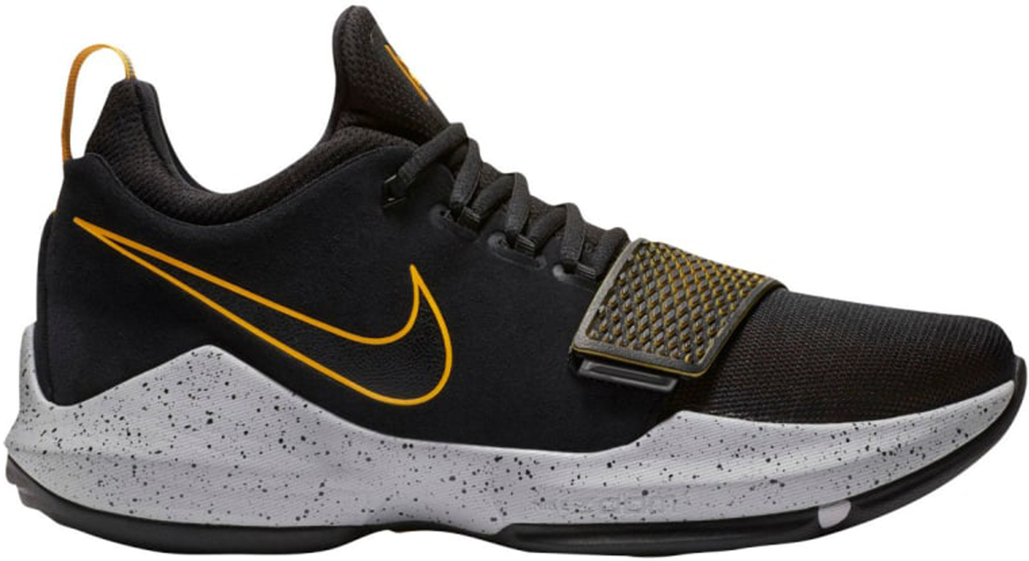 Nike PG 1 Black University Gold