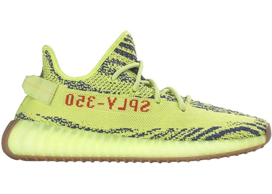 frozen yellow yeezy boost adidas