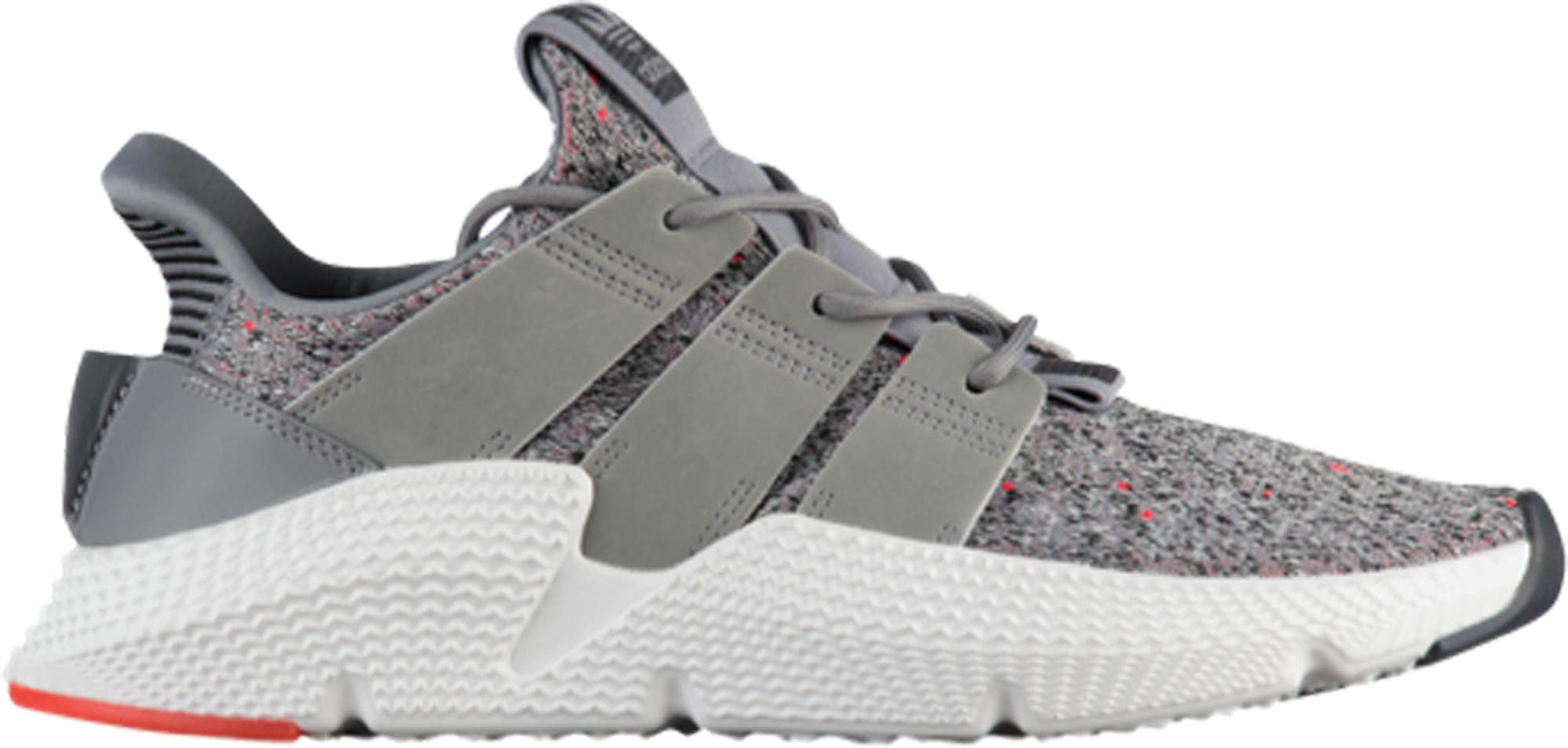 adidas Prophere Grey Solar Red - StockX
