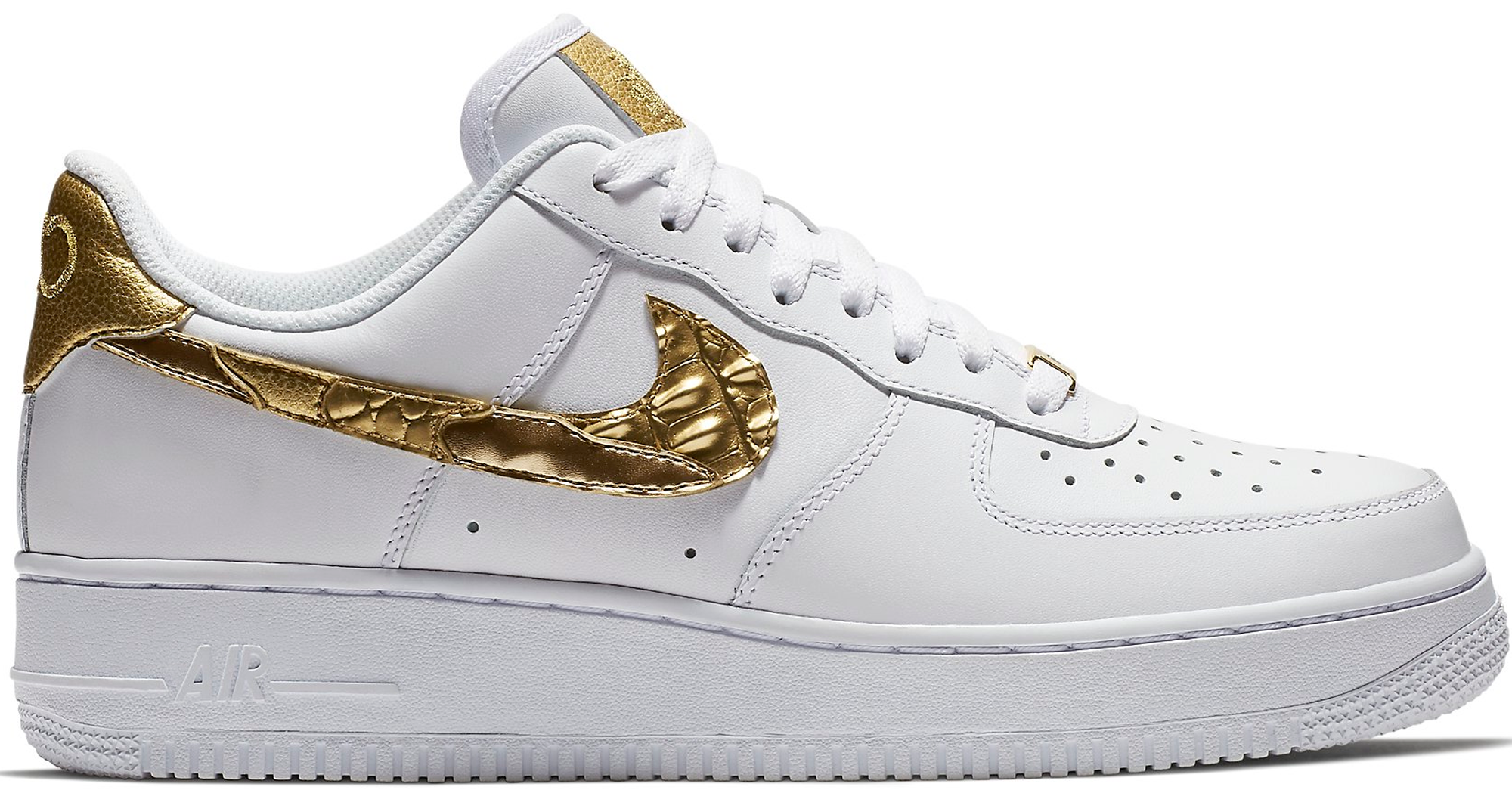 Rechazo Vislumbrar Benigno  Nike Air Force 1 Low CR7 Golden Patchwork - StockX News