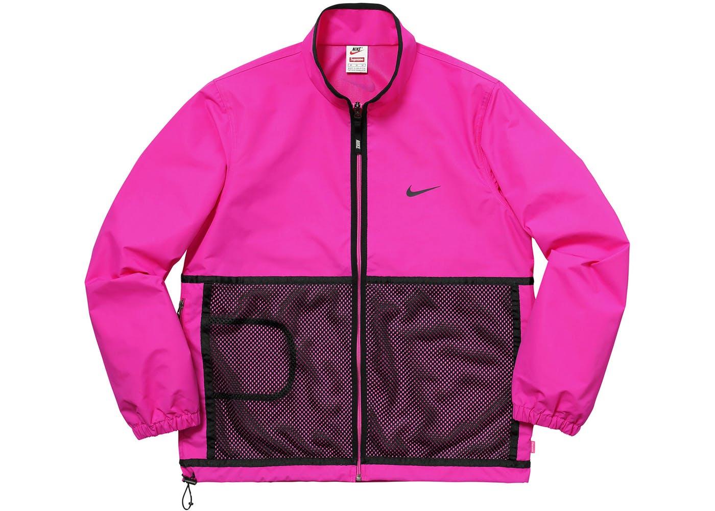 eso es todo Continuo Empuje hacia abajo  Supreme Nike Trail Running Jacket Pink - StockX News