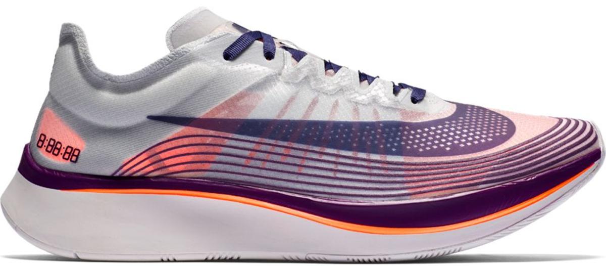 Casco Escepticismo Diez años  Nike Zoom Fly Purple Orange - StockX News