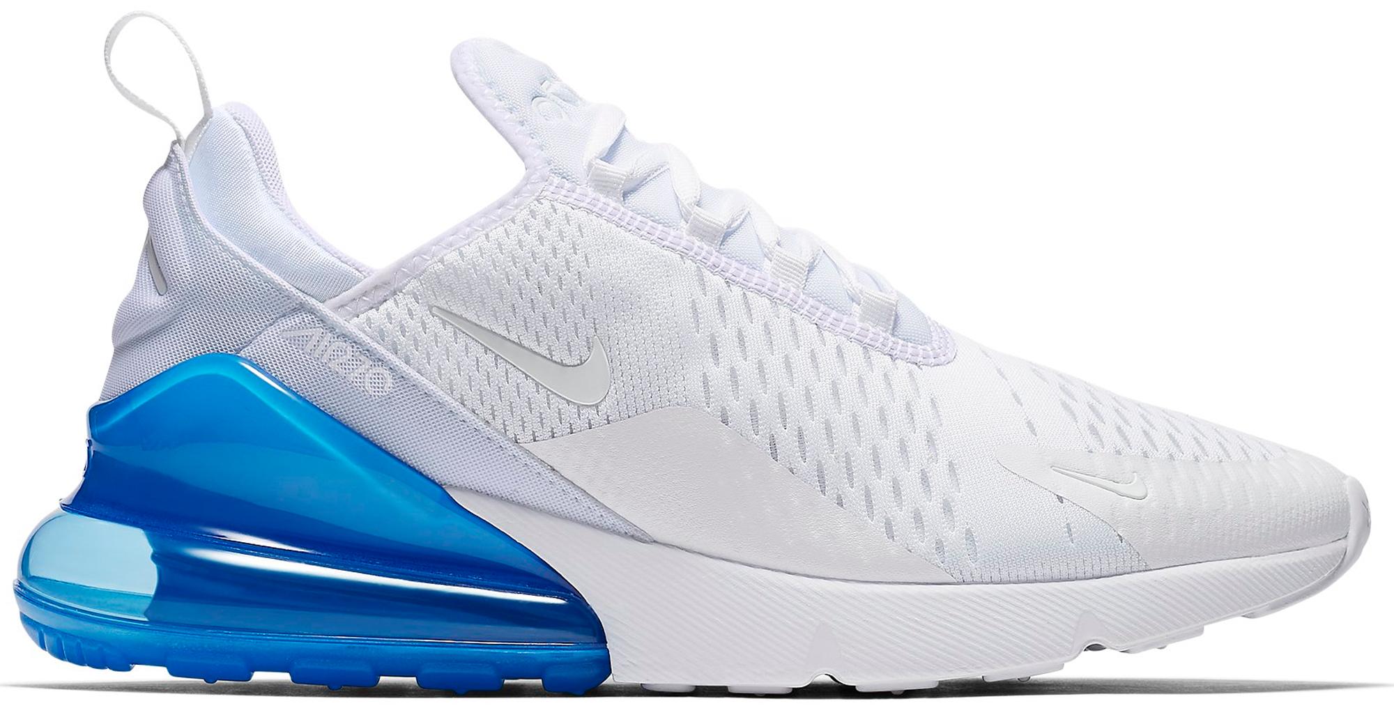 Nike Air Max 270 White Pack Photo Blue