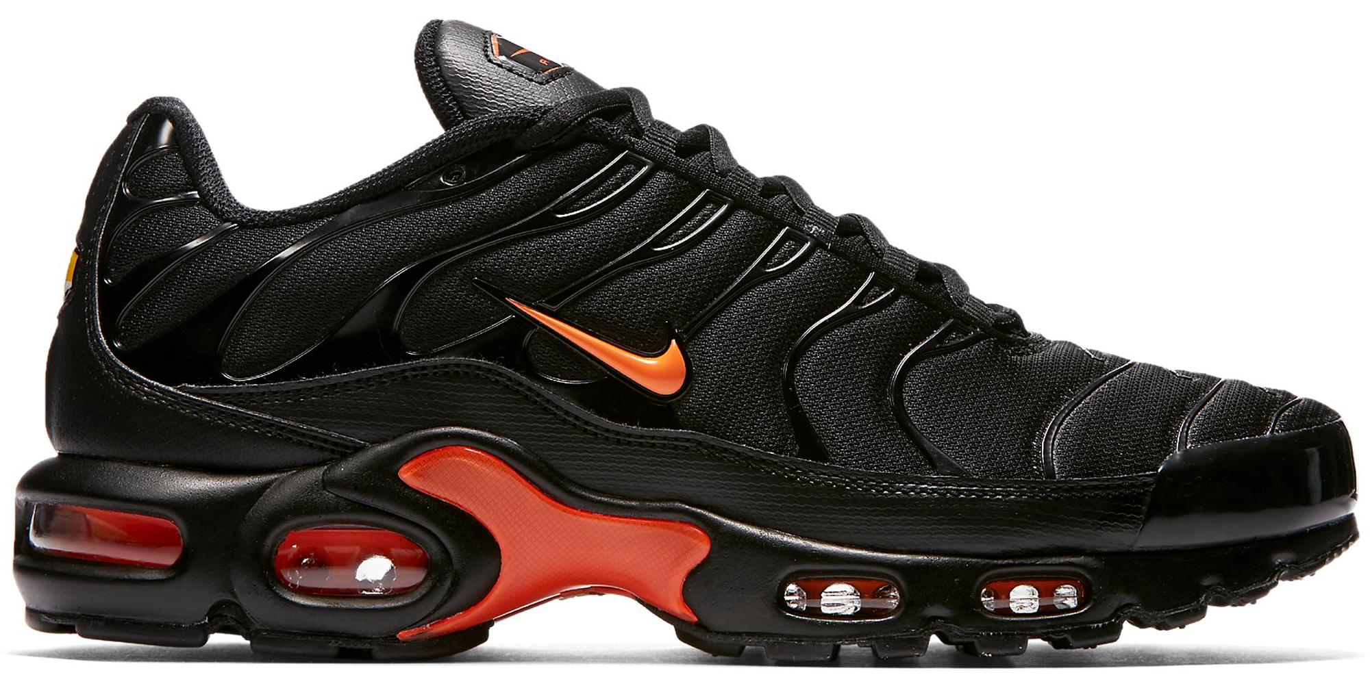 air max black orange