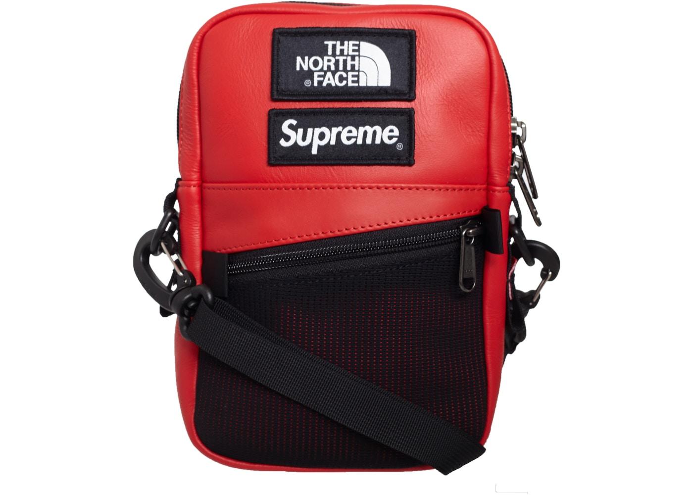 North Face Leather Shoulder Bag