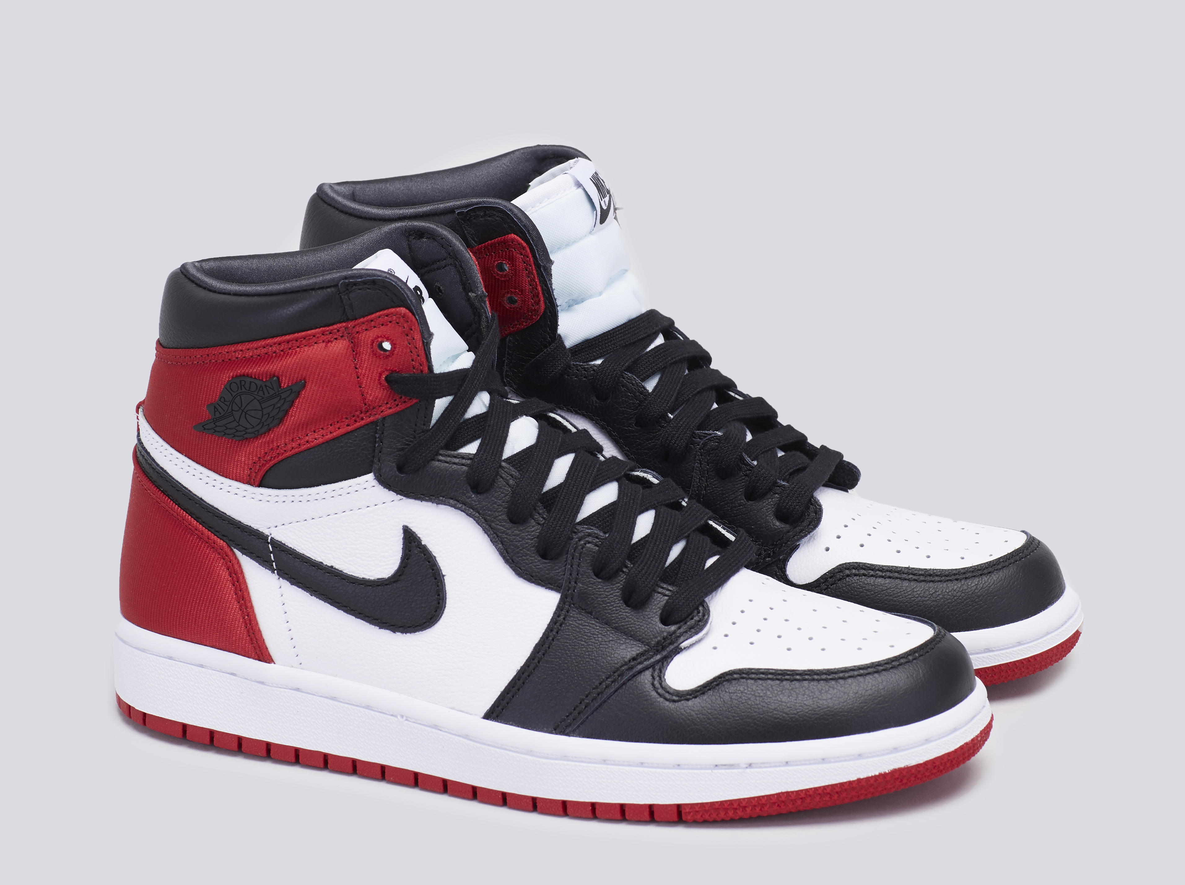 Air Jordan 1 Retro High Satin Black Toe (W) - By The Numbers ...