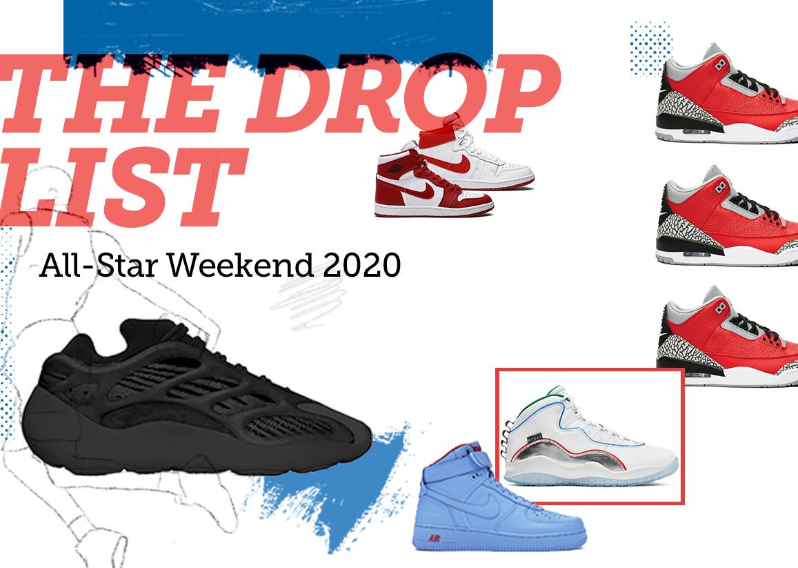 The Drop List - All-Star Weekend 2020