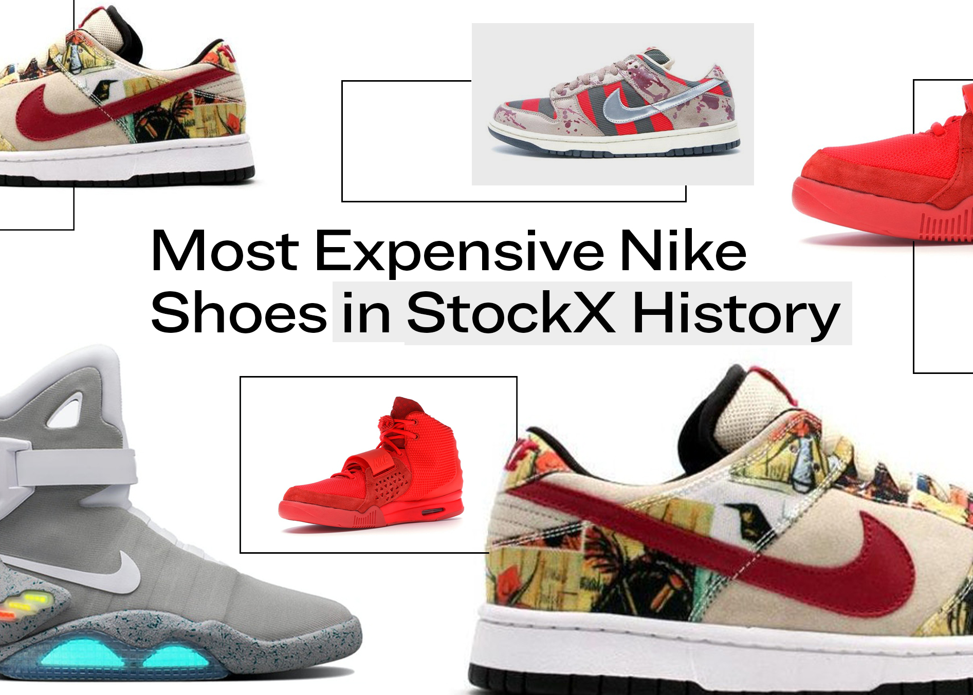 Escritura Automáticamente Audaz  Most Expensive Nike Shoes in StockX History - StockX News