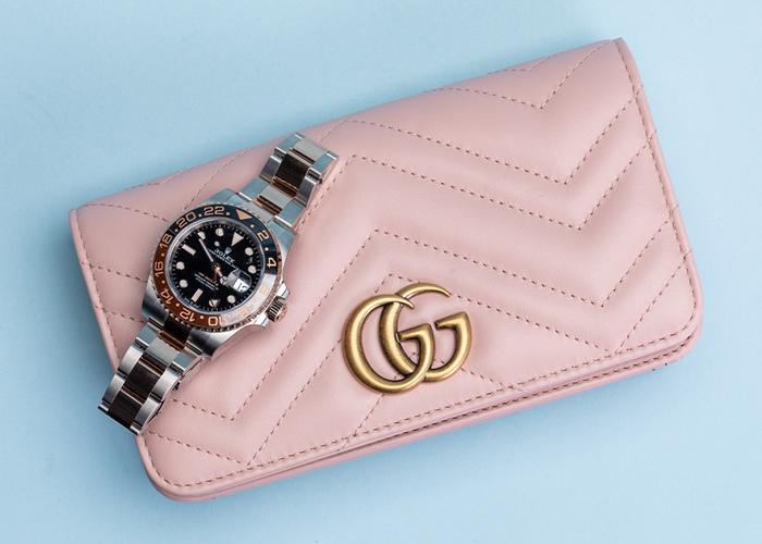 アジア各国で腕時計とハンドバッグが購入可能