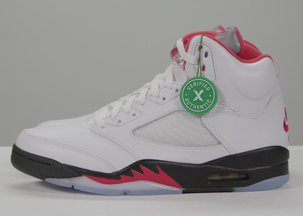 Air Jordan 5 Fire Red   Details