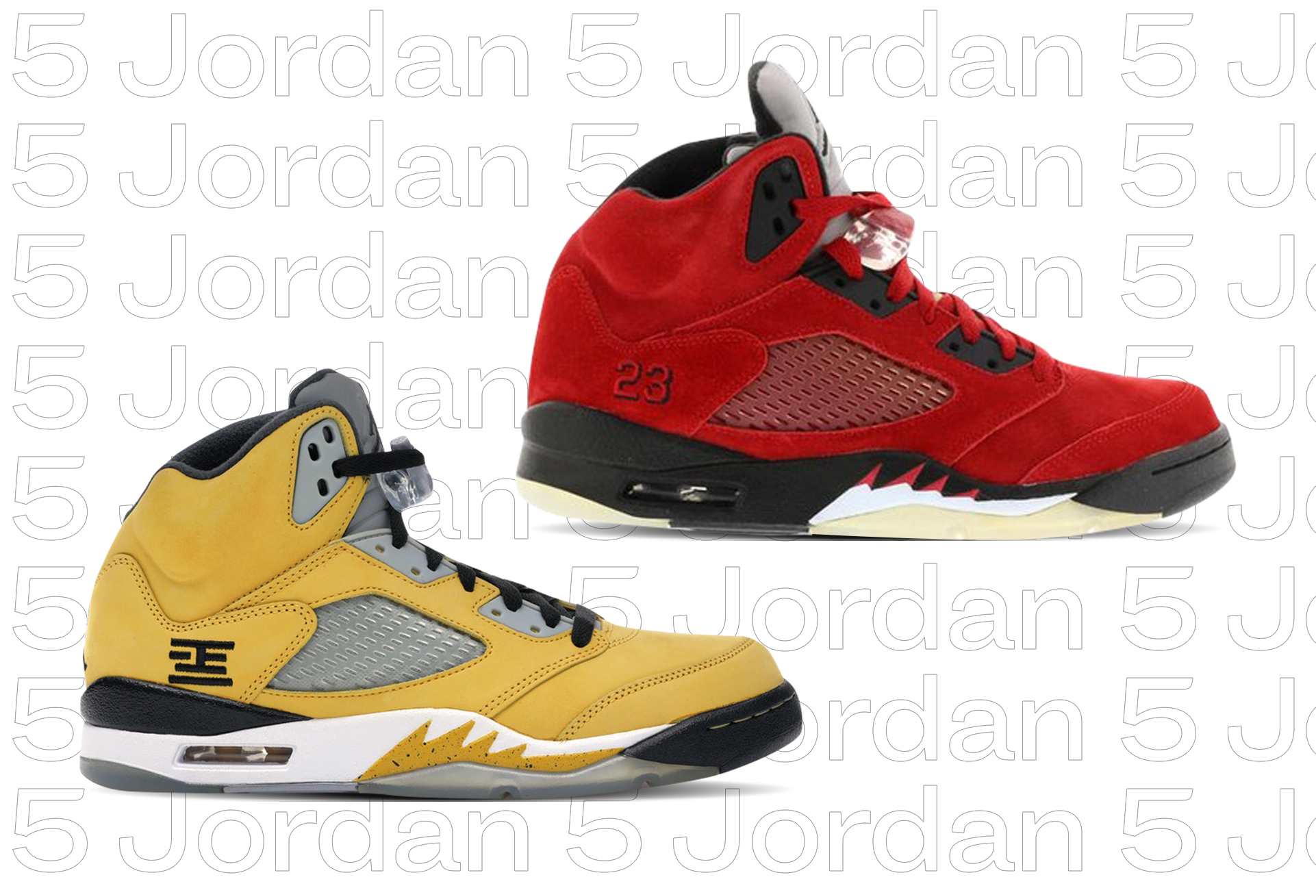 Jordan 5: By The Numbers - StockX News