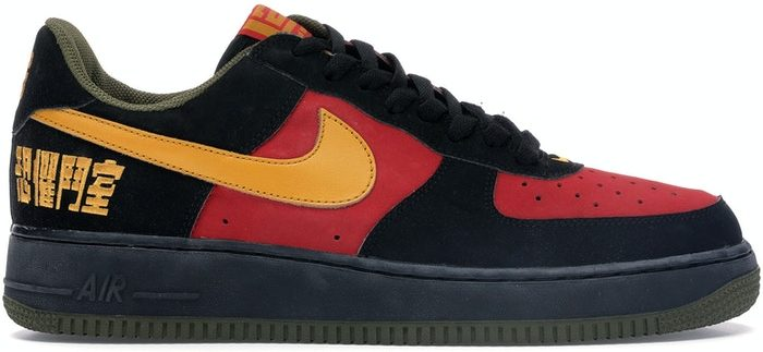 air force 1 baffo rosso